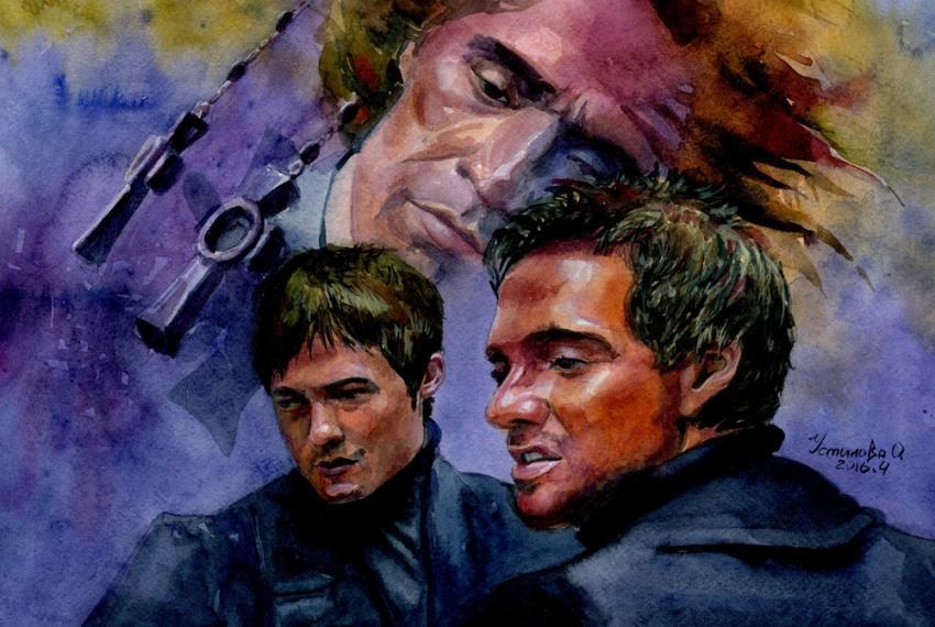Norman Reedus, Sean Patrick Flanery, Willem Dafoe por chi-chi-ku